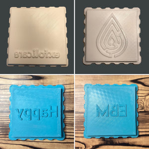 Add Your Logo Square Bath Bomb Mold Press