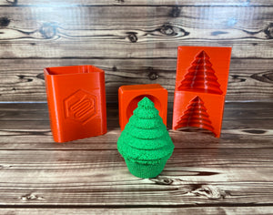 3D Christmas Tree Mold Press