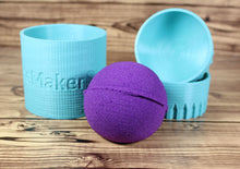 Load image into Gallery viewer, Add Your Logo Round or Sphere Bath Bomb Mold Press