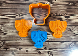 Menorah Mold Press