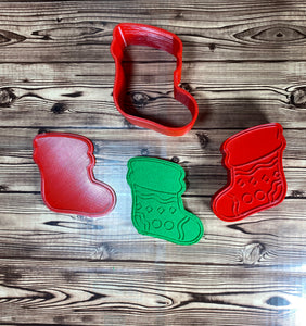 Christmas Stocking Mold Press