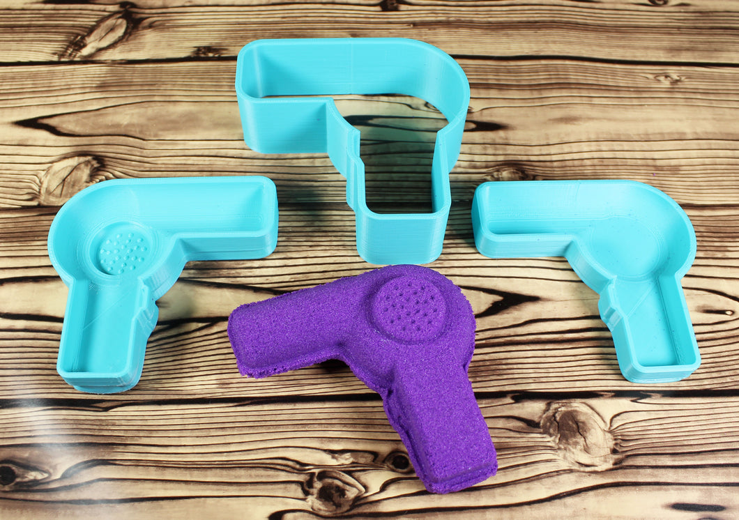 Hair Dryer or Blow Dryer Bath Bomb Mold Press