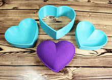 Load image into Gallery viewer, Heart Bath Bomb Mold Press