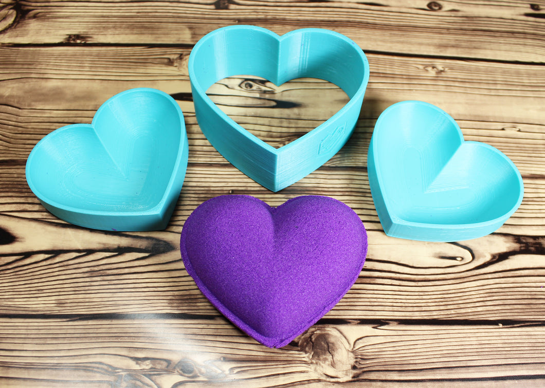 Heart Bath Bomb Mold Press