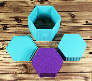 Add Your Logo Hexagon Mold Press