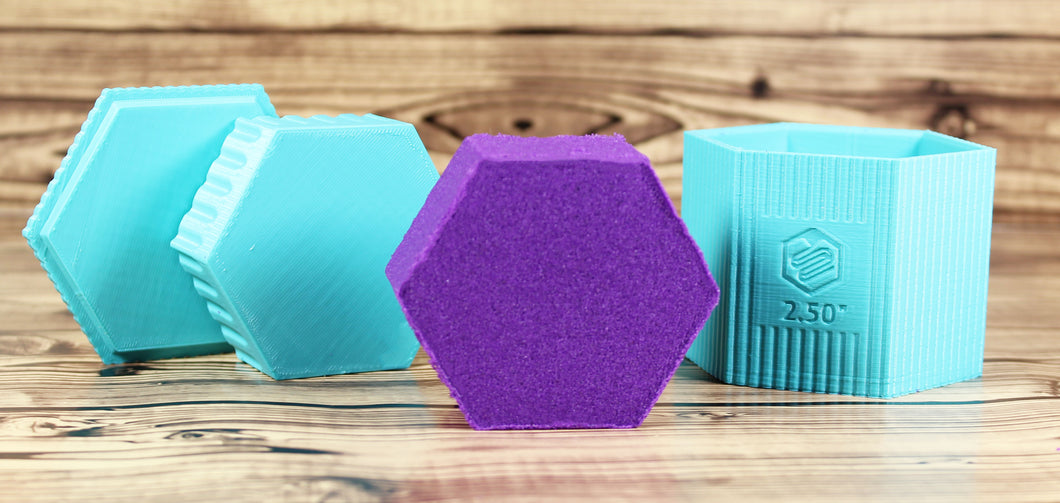 Hexagon Press for Bath Bombs or Shampoo Bars