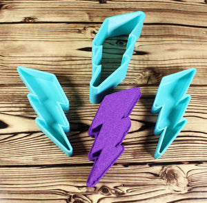Lightning Bolt Bath Bomb Mold Press