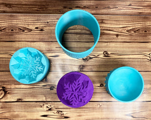 Snowflake Bath Bomb Mold Press