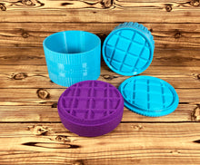 Load image into Gallery viewer, Waffle Bath Bomb Mold Press
