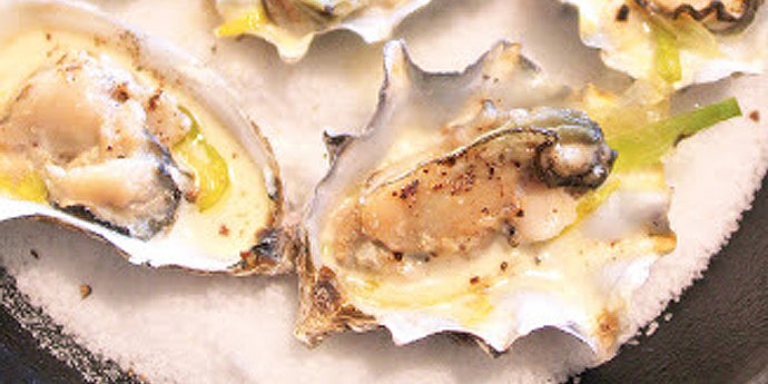 Totally Decadent Oysters