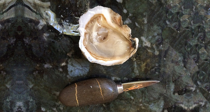 Exceptional French Oyster Knife