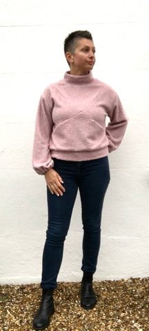 blush maxine sweater