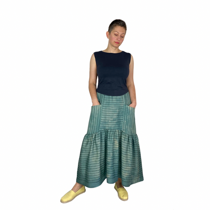 Olive Skirt sewing pattern by Dhurata Davies, digital pattern in PDF format, sizes 4-24UK