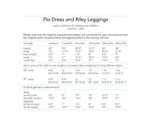 Load image into Gallery viewer, Flo Dress and Riley Leggings, printed sewing pattern for babies, 0 - 24 months