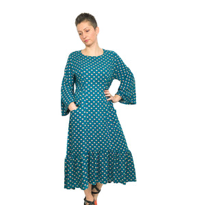 Jasmine Tee and Dress, digital sewing pattern, size 6-20UK, by Dhurata Davies