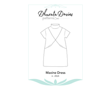 Load image into Gallery viewer, Maxine Dress, digital sewing pattern, size 6-20UK