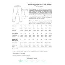 Load image into Gallery viewer, Moov Leggings and Cycle Shorts, digital sewing pattern for kids, 3y-12y