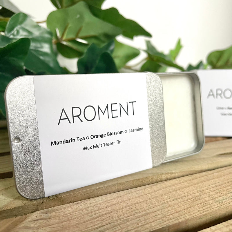 Aroment Fragrance / Scoop & Melt Tester Tins - Aroment
