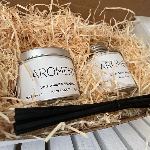 Melt & Diffuser • Pick Your Own Aroment Gift Box - Aroment