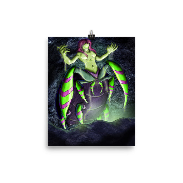 Poster (Regalis, Goddess of Poison)