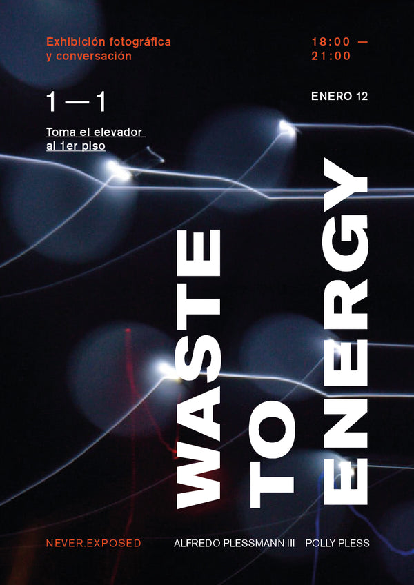 Waste To Energy Poster (Barcelona. Jan, 2019)