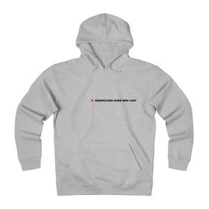 YOU ARE BEING RECORDED HOODIE