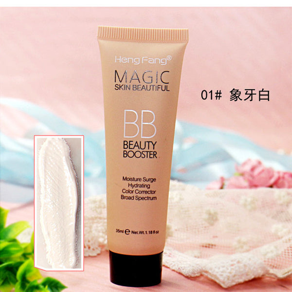 2018 New Brighten Base Makeup Kit Sun Block Long Lasting Waterproof Face Whitening Brand Foundation Hengfang BB Cream