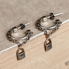 Load image into Gallery viewer, Antique Charms Earrings - 925 Sterling