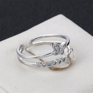 Romantic Butterfly Ring