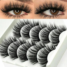 Load image into Gallery viewer, Long Messy Eyelashes-5pcs