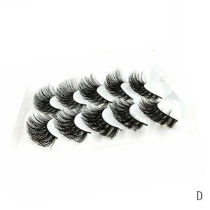 Long Messy Eyelashes-5pcs