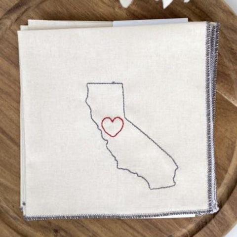 Dot & Army Zero Waste California Cocktail Napkins Set of 4