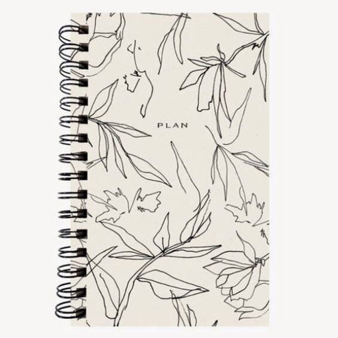 Wilde House Paper Flora Weekley Planner/Journal
