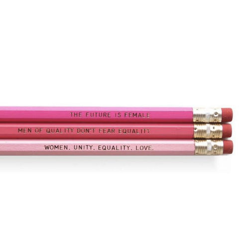 Dahlia Press Feminism Pencils Set of 6