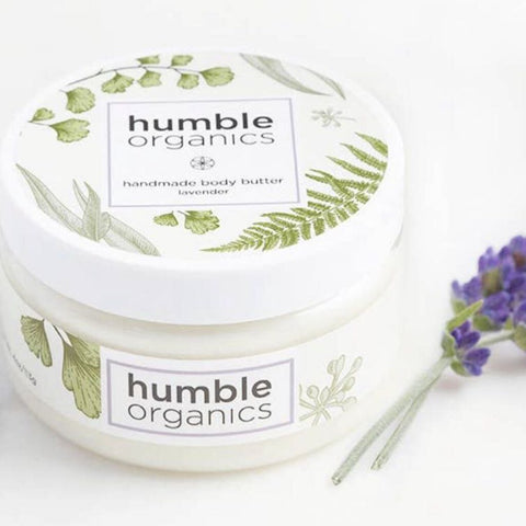 Humble Organics Lavender Body Butter, 4 oz