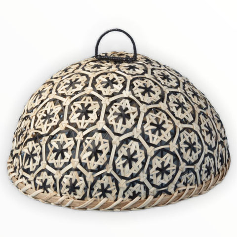 Be Home Woven Bamboo Cloche
