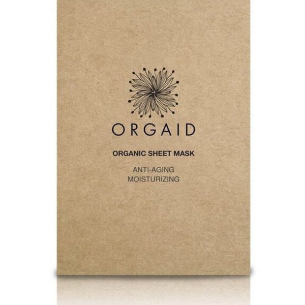Orgaid Anti-Aging & Moisterizing Organic Facial Sheet Mask Single