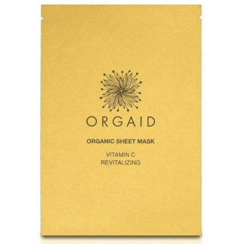 Orgaid Vit-C & Revitalizing Organic Facial Sheet Mask Single