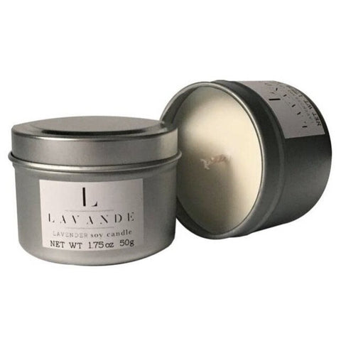 Lavande Soy Travel Candle: Lavender