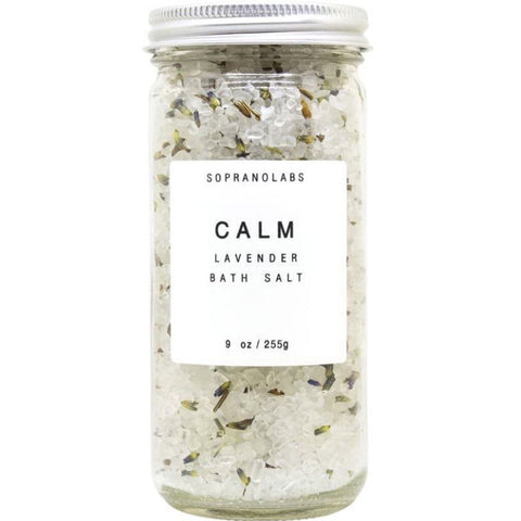 SopranoLabs Lavender Calm Bath Salt 9 oz