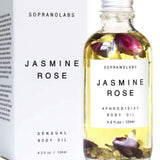 SopranoLabs Jasmine & Rose Sensual Body Oil 4.2 fl oz