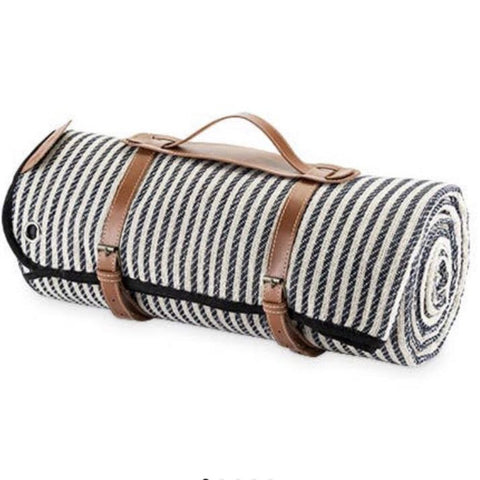 Twine Striped Picnic Blanket Set