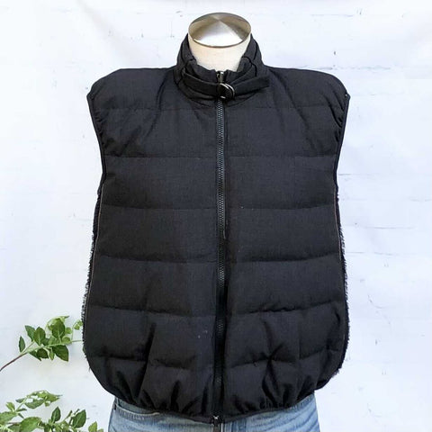 Brunello Cucinelli Quilted Down-Filled Zip Front Puffer Vest, Size 40 (4)