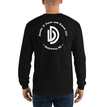 Load image into Gallery viewer, Long Sleeve T-Shirt BLK/WHT