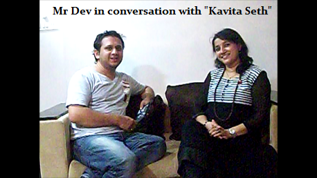 A God Gifted Singer - Kavita Seth in Conversation with Mr Dev
