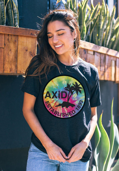 Tie Dye Palms - Xi Boutique
