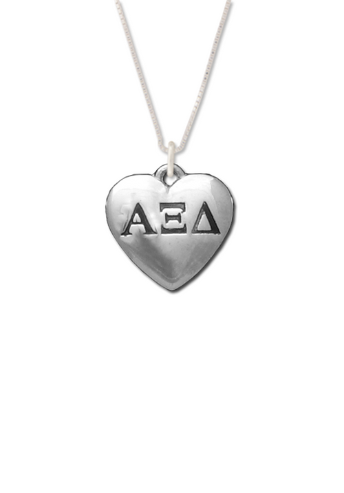 Heart Letters Necklace - Xi Boutique
