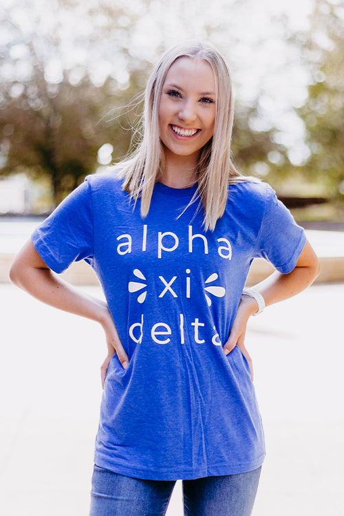 Basic Alpha Xi Tee