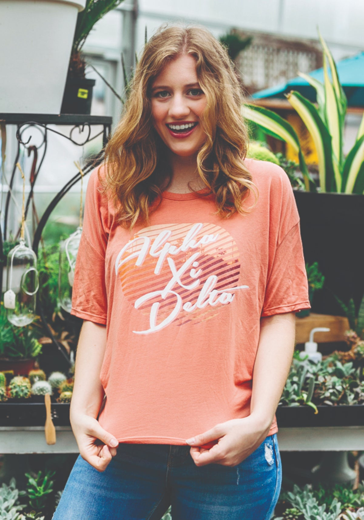 Southern Aire Flowy Tee - Xi Boutique