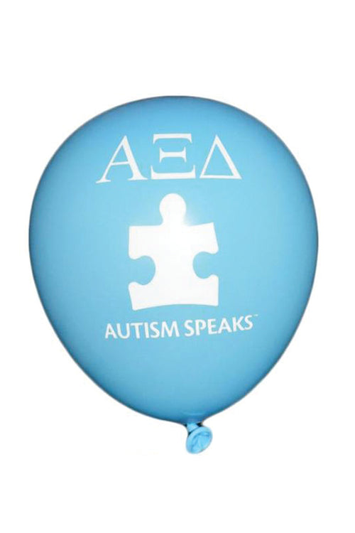 Autism Speaks Blue Balloons